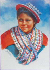 Jeune femme de Potosi